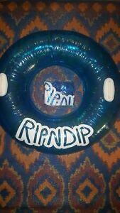 Authentic Rip N Dip River Float tube in original packaging, exclusive