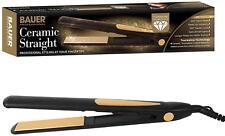 BAUER 230° Ceramic Tourmaline Hair Straighteners Professional Salon Styler Pro.
