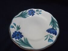 """Stangl Bread Dessert Plate Dahlia Design with Brown Back 6"""""""