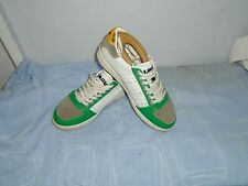 Da Uomo Dsquared 2 MADE IN ITALY Lacci Multi Scarpe di pelle. TG UK 5