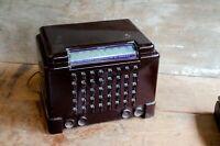 Vintage ECA Bakelite AM Tube Radio