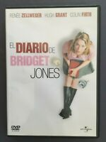 DVD EL DIARIO DE BRIDGET JONES R Zellweger Hugh Grant Colin Firth SHARON MAGUIRE
