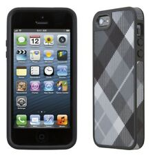Speck Fabshell Case iPhone SE 5S 5 Megaplaid Black Pack of 15