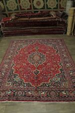 10X13 Traditional S Antique Red Mashad Persian Area Rug Oriental Carpet 9ʹ6X12ʹ7