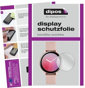 2x Schutzfolie für Samsung Galaxy Watch Active 2 40mm klar Displayschutzfolie