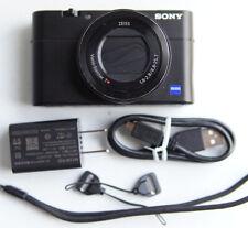 SONY DSC-RX100 M5 V 20.2 MP BLACK DIGITAL CAMERA *Noise Zoom