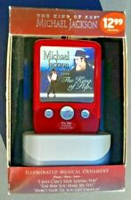 Michael Jackson King of Pop 2010 Collectible Music ornament Plays 3 MJ Songs Fun
