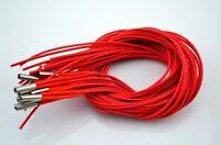 10pcs 12v 40W Ceramic Cartridge Wire Heater For 3D Printer Reprap Prusa Mendel