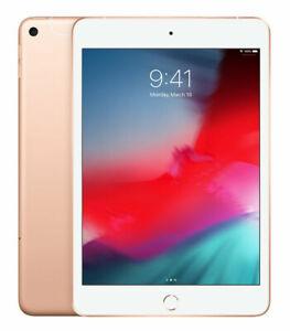 Apple iPad Mini (5th Generation) 256GB, Wi-Fi + 4G (Unlocked), 7.9in - Gold