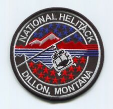 Dillon National Helitack Wise River Forest Fire Wildfire Wildland Patch Montana