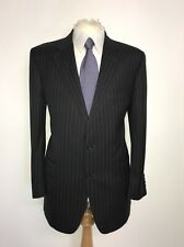 GIEVES & HAWKES - Mens DARK GREY WOOL SUIT - 42 Short - W34 L29 - GORGEOUS