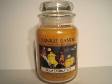 "Yankee Candle, 22 oz. ""Remembrance"" Rare Collector's Candle"