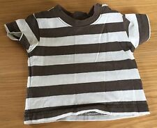 Baby Boys Adams Newborn Short Sleeved Striped T-shirt