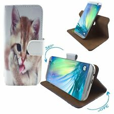 Mobile Phone Case Book Cover For ZTE Jasper LTE - PU 360 Cat 2 S