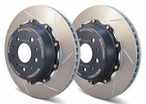 GiroDisc FRONT 355mm 2pc Rotors for Lamborghini Murcielago Early (4/4 Pot)