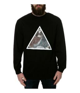 Black Scale Mens The First Supper Ls Graphic T-Shirt