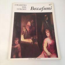 I maestri del colore Beccafumi (n.117) Fabbri Editori 1966 prima edizione