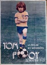 TOM FOOT - SOCCER / FIMPEN / FOOTBALL SPORT - ORIGINAL LARGE FRENCH MOVIE POSTER