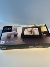 """Sony DPF-C70A 7"""" Digital LED Picture Frame S-Frame and a pair 1 GB card"""