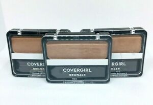 Covergirl Cheekers Bronzer Blush #102 Copper Radiance- 3 Pack- SEALED