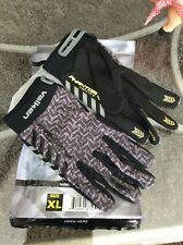 Valken Phantom Agility Paintball Gloves Xl Black/Gray Ultra Light Mesh New