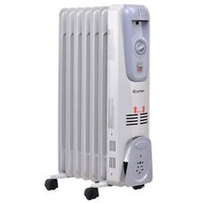 1500w Heat Power 3 Heat Setting Heater Home Office Electric Oil-filled Radiator