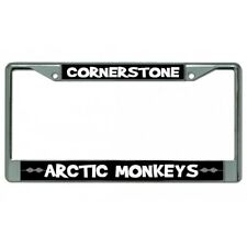 cornerstone arctic monkeys musical artist band license plate frame made in usa