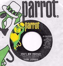 TOM JONES * 45 * What's New Pussycat? 1967 * USA VG++ marks ORIGINAL * Parrot 45