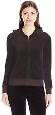 Womens Hoodie Hood Plain Jumper Ladies Velvet Casual Sweater Sweatshirt Jacket