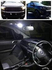 FORD RANGER 2011+ Interior LED light kit - DUAL/CREW CAB XL XLT Super Bright!