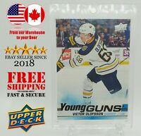 VICTOR OLOFSSON 2019-20 Upper Deck Series1 Young Guns no.207 Rookie