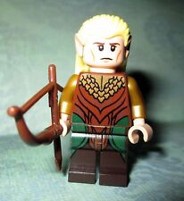 Lego Lord Of The Rings LEGOLAS GREENLEAF Minifigure W/ BOW Set# 30215