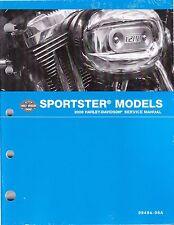 2008 Harley Sportster XL883 XL1200 Repair Service Workshop Shop Manual 99484-08A