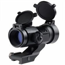Tac RD06 Red Mil-Dot Illuminated Holographic Rifle Scope Picatinny Cantile Mount