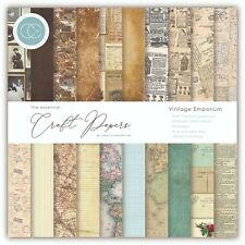 "New Craft Consortium 6"" x 6"" Paper Pad Craft Papers - Vintage Emporium"