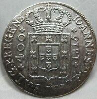 PORTUGAL 400 reis Pinto1815 AU Joao #A61