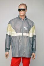 vintage ADIDAS 80s RAIN JACKET / windbreaker nylon cagoule size mens XL