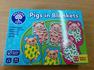 Orchard Pigs in Blankets Game