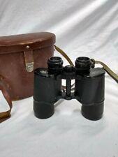 Vintage Carl Zeiss Jena 10 x 50 Dekarem Binoculars and  Original Leather Case