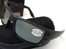 Costa Del Mar Permit Blackout & Silver Mirror Glass 580 580G Genuine Sunglasses