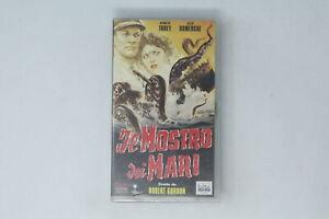 VHS IL MOSTRO DEI MARI CULT COLLECTION  TOBEY, DOMERGUE 1955 [MF-009]