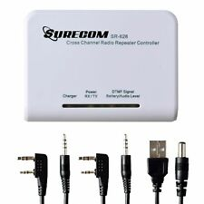 Surecom SR-628 Cross Band Duplex Repeater Controller with Radio cable