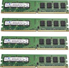 8GB (4x2GB) Samsung RAM PC2-6400 DDR2 Desktop Arbeitsspeicher