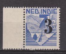 Nederlands Indie Indonesie nr 323 randvel MNH Netherlands Indies 1947 VERY FINE