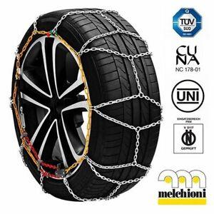 Catene da neve per autovetture 12 mm Melchioni KN30 per pneumatici 145/80-13