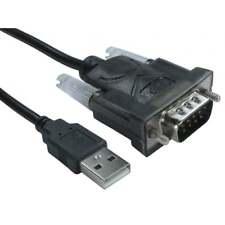 Câble ADAPTATEUR Convertisseur 9 Broches SERIE RS232 DB25 DB9 à USB 2.0 Mâle A