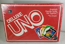 Vintage Deluxe UNO Classic Card Game 1986 International Games Inc NEW SEALED