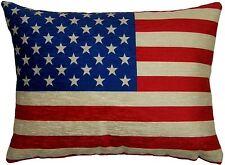 Evans Lichfield USA Estrellas Rayas Bandera Americana HECHO UK FUNDA DE COJÍN 43 X 33CM