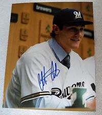 Milwaukee Brewers Clint Coulter Signed 8x10 Photo Auto