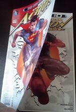 ACTION COMICS 0 SUPERMAN RARE DOUBLE COVER ERROR VARIANT 2011 DC SERIES NEW 52